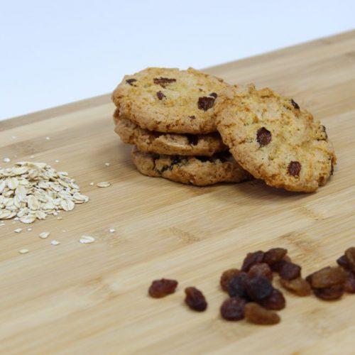 Cookie de pasas y avena
